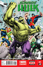 Savage Hulk #1 Unread New Near Mint Marvel 2014 Digital Code Included **16