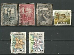 Angola Different stamps