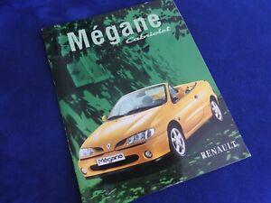 catalogue renault megane cabriolet 1998