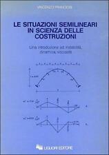 Vincenzo Franciosi Le situazioni semilineari in scienza delle costruzioni