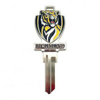 RICHMOND TIGERS AFL 3D COLLECTORS House Key Blank - AU SELLER
