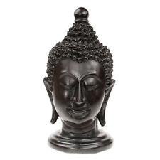 Resin Buddha Head / Face Ornament Statue Figure Sculpture Handmade in Thailand