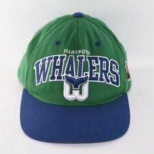 NHL Hartford Whalers Hockey Hat Mitchell & Ness Snapback Vintage Hockey Cap