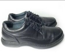 Rockport 11 Black Leather Men's World Tour Classic Sneaker Lace Up $100