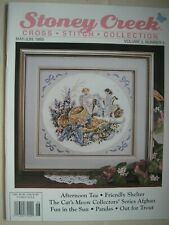 Stoney Creek Magazine Vol 5 Number 3 May June 1993 Counted Cross Stitch Patterns