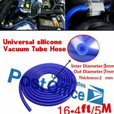 Water Air Coolant Dump Valve Turbo Boost Line 5M 3mm Silicone Vacuum Hose Tube #