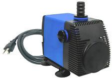 1060 GPH Adjustable Submersible Hydroponic Fountain Pond Aquarium Water Pump