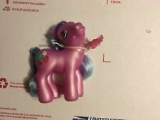 My Little Pony SWEETBERRY Hasbro Vintage G3 Good Condition with Charm