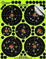 "25 Pack - 4"" ""Stick & éclaboussés"" - Adhésif Splatterburst Shooting Targets-Ins"