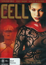 The Cell - Thriller / Sci- Fi / Crime / Investigation - Jennifer Lopez - NEW DVD