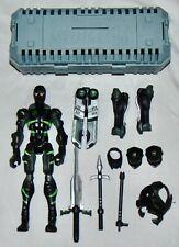 2006 Hasbro GI Joe Sigma 6 Snake Eyes Action Figure Used