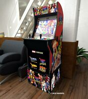 Arcade 1up Xmen Vs Street Fighter Retro Video Game Cabinet Riser 4 games In 1