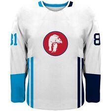 NEW 2019 Norway Team Europe Hockey World Cup Fan Jersey White NHL ZUCCARELLO