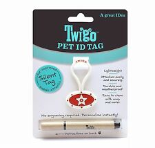 Twigo Pet ID Tags for Dogs and Cats All Sizes Orange Include Pen Buy1 get 2Free