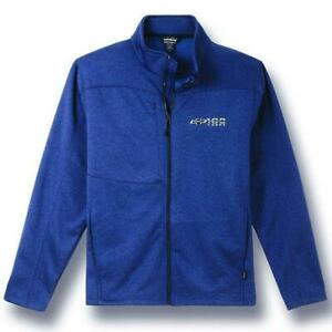 CHEVROLET BONDED BLUE 100 YEARS JACKET CHEVY NEW GM OFFICIAL POLYESTER FLEECE J