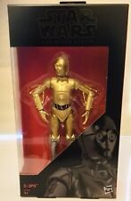 STAR WARS The Black Series C3PO Figure RARE EXCLUSIVE MINT BNIB