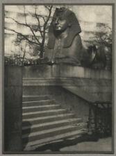 More details for 1900s alvin langdon coburn vintage photogravure - steps to sphinx