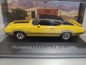 oldsmobile cutlass s w-31 año 1970 escala 1/43 AMÉRICAN CARS