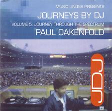 JOURNEYS BY DJ VOL.5 - PAUL OAKENFOLD house CD 1994 JOEY BELTRAM RAMIREZ QUENCH