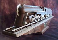 "Wooden Train - New York Central - J-3a ""Dreyfuss"" Hudson, 4-6-4 Steam Locomotive"