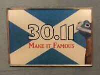 Scotland St Andrews Day Pin Badge
