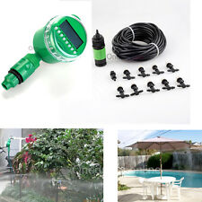 33ft Garden Auto Water Timer Automatic Control Misting Cooling System