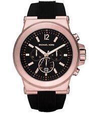 Band New Michael Kors MK8184 45mm Case Dylan Chronograph Black Dial Men's Watch