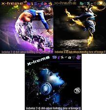 X-TREME MIX UP VOL.3, 4 & 5 (2012-2013) 9x DJ Club Remixes (3x cd's of tunage!!)
