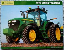 John Deere Sales Brochure 7030 Series Tractors 2006 c
