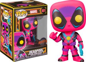 Marvel: Blacklight - Deadpool Blacklight Pop! Vinyl #801 - NEW