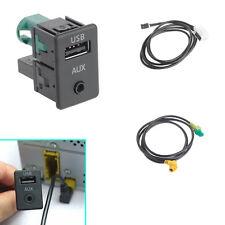 USB+AUX Switch Cable RNS315+RCD510+310+300 Fit VW Passat B6 B7 CC Golf Mk6 Jetta