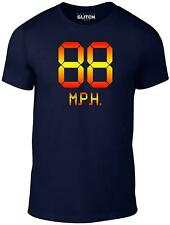 88mph Men's T-Shirt - Movie Inspired Future Marty Back to the Mcfly Film