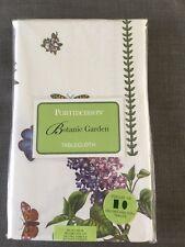 """New Portmeirion Botanic Garden Tablecloth 60"""" x 84"""""""
