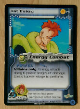 JUST THINKING [Played] P5 Cell Promo Dragon Ball Z Ccg Tcg Dbz Score