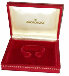 Vintage Rare MOVADO Box Case watch for chronograph M90 and M95 1960`
