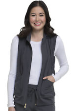 Pewter HeartSoul Scrubs In Vested Love Vest with Removable Hood HS500 PEWH