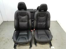 2016 VOLVO V40 T3 CROSS COUNTRY PRO 5Dr Hatch Black Leather Interior Seats 022