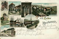 Ansichtskarte Maulbronn 1902 Hotel Post Koster  (Nr.782)