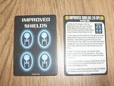 Star Trek Attack Wing OP Improved Shields Cards