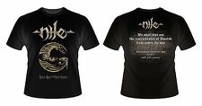 NILE - Rare T-Shirt of Israeli show in Tel Aviv + Flyer XL aborted nasum absu