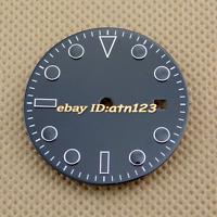 31.5/28.5mm Bliger  Black Dial Ming zhu 2813/3804,Miyota 82 Series Movement P576