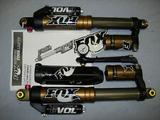 FOX FLOAT 3 EVOL RC2 FRONT AIR SHOCKS KASHIMA COATED SKI DOO MXZ SUMMIT 850 CC
