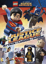 lego dc super heroes Justice League-Attack Of The Legion Of Doom DVD New
