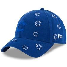 3e87f2abfdbc5 Chicago Cubs Hat Logo Scatter 9TWENTY Adjustable New Era Strapback Cap