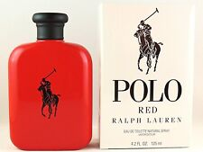 RALPH LAUREN POLO RED EDT 125ml 4.2fl oz COLOGNE FULL SIZE SEALED NEW IN BOX
