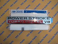 Ford Super Duty Power Stroke Turbo Diesel V8 Emblem 2005-2007 New OEM Factory