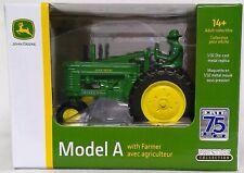 John Deere 1/32 Model A Tractor Ertl 75 Years