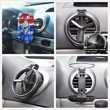 Car Truck Wind Air A/C Outlet Folding Cup Bracket Bottle Drink Holders For BMW