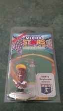 1995 RICKEY HENDERSON MICRO STARS MLB COLLECTOR'S SERIES FIGURE - NEW