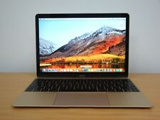"Apple MacBook Retina 12"" Laptop (2016) 1.1GHz Core-M3 8GB 256GB Mint Warranty"